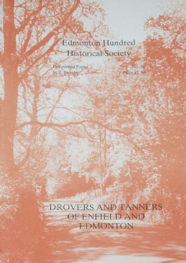 Drovers and Tanners of Enfield and Edmonton, by J Burnby
